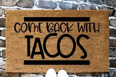 Custom welcome mat, funny doormat, hello there mat, personalized doormat Funny Doormats, Coir Doormat, Personalized Door Mats, Fabric Pumpkins, Welcome Mats, Sarcastic Humor, Mirror Image, Customized Gifts