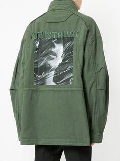 Juun.J куртка в стиле милитари