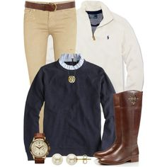 """Preppy Layers"" by qtpiekelso on Polyvore"
