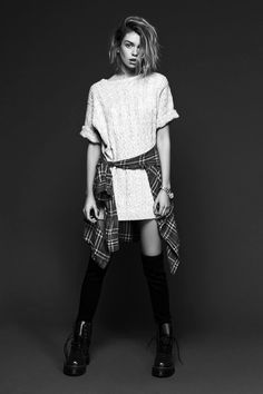 Stella Maxwell - For Love & Lemons: Knitz Fall 2014 Collection Photographed by : Zoey Grossman