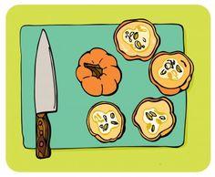 Pumpkin quiche recipe (illustrated!)