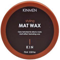 MAT WAX    Cera texturizante efecto mate  Fijaci�n Suave 1  �  Modo de empleo     Aplicar sobre el cabello seco.   Fundir una peque�a cantidad de producto entre     las manos.   Trabajar globalmente o mecha a mecha con los       dedos.         Permite dar forma, estructurar o despeinar      cabellos cortos o medios.   Con fijaci�n suave, proporciona un efecto mate.