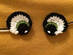 Resultado de imagem para crochet eyes