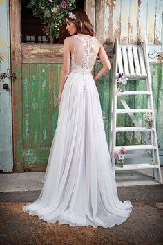 Design by Amanda Wyatt - Promises of Love Collection - gown in mocha