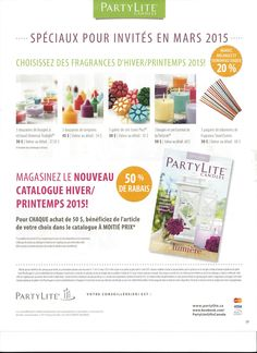 Promotions pour clients/tes AVRIL 2015 www. Marie, Promotion, Fragrance, Transport, Catalogue, Shopping, Tes, Pebble Stone, Candle