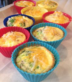 Baked Egg Frittatas - Use your muffin pan or individual muffin cups to create single-serving frittatas unique to each family member's tastes.