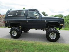 4x4 Trucks, Lifted Trucks, Chevy Trucks, Chevy Blazer K5, K5 Blazer, Chevy 4x4, 4x4 Off Road, Chevrolet Tahoe, Amazing Cars