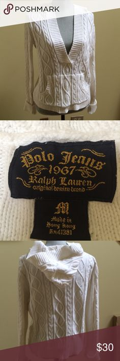 Polo jeans 1967 Ralph Lauren Polo jeans Ralph Lauren top , size M, new  condition ,100% algodon , bundle to save for shipping Polo by Ralph Lauren Tops Sweatshirts & Hoodies