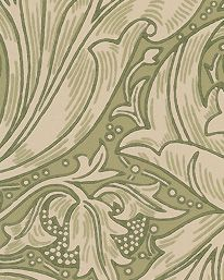 Tapet Bachelors Button Thyme från William Morris & Co