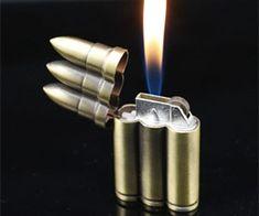 New Vintage Bronze Bullet Flip Shell Shaped Metal Refillable Copper Jet Flame Cigarette Cigar Gas Lighter Light Em Up, Light My Fire, Bongs, Cool Lighters, Gas Lights, Smoking Accessories, Cigar Accessories, Zippo Lighter, Electronic Cigarette