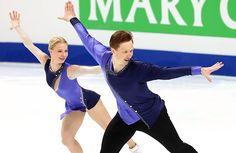 Russia's Evgenia Tarasova and Vladimir Morozov perform their long program at the 2016-17 ISU Grand Prix Final of Figure Skating.
