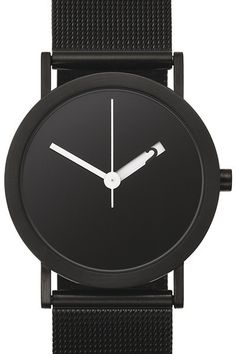 This is like Movado with a twist- I love that the hour hand reveals the hour number as it moves around. Very nice touch #watch #mens_fashion