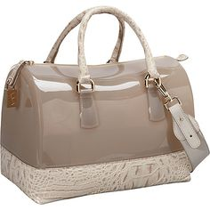 Furla Candy Bauletto croco #handbag #satchel