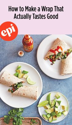 Lunch Wrap Ideas: How to Make a Wrap That Actually Tastes Good Lunch Wraps, Chicken Wraps, Brown Bags, Healthy Alternatives, Lunch Ideas, Sandwiches, Roast, Vegetables, Ethnic Recipes