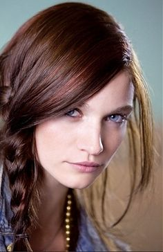 Brown -Red hair