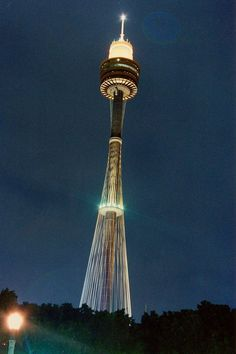 We'd have to plan a 6 month trip just to see everything!!! LOL Centrepoint Tower Sydney Australia