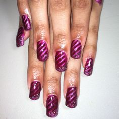 Gel Nails Magnetic Lacquer/Glitter