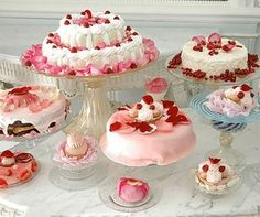 Pastries from the Marie Antoinette movie