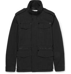 GIVENCHY Cotton-Canvas Field Jacket. #givenchy #cloth #coats and jackets