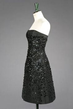 Christian DIOR Haute Couture n° 76457 (collection A/H 1955)