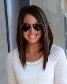 Layered hairstyles for shoulder length hair1 my style for Long bob braun
