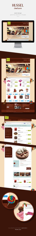 Website / Jerónimo Martins / Hussel by Andrea Sousa, via Behance #webdesign #candies