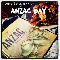 Link to printable Unit on Anzac Day for young learners, printable poppy craft, printable anzac biscuit recipe