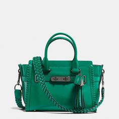 Rip and Repair Coach Swagger 27 Carryall in Glovetanned Leather --- my fav colour!!