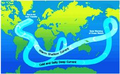 Make a model of ocean currents in this oceanography science fair project. Weather And Climate, Climate Change, Ocean Current, Rip Current, Solar Activity, 6th Grade Science, Conveyor Belt, Science Fair Projects, Stem Projects
