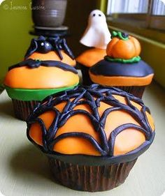 Halloween Recipes : Cupcakes d'Halloween