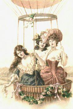 Decoupage Vintage, Vintage Ephemera, Vintage Cards, Lady Images, Female Images, Victorian Ladies, Vintage Ladies, Cherub, Junk Journal