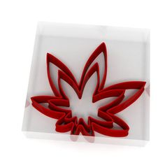 Weed Cannabis Leaf Cookie Cutter Set of 2 Fondant Icing Cake Biscuit Dough Biodegradable Packaging, Biodegradable Products, Cookie Cutter Set, Cookie Dough, Fondant Icing Cakes, Plastic Cutter, Leaf Cookies, Weed