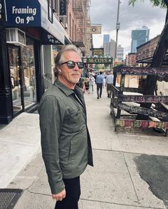 """Don Johnson fan account. on Instagram: """"Don Johnson in NYC filming High Heat! 🎬 """"The latest movie to the first movie in NYC"""" Credit Kelley Johnson 💜"""""""