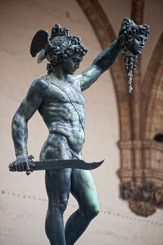 Benvenuto Cellini: Perseus With The Head Of Medusa 1550s