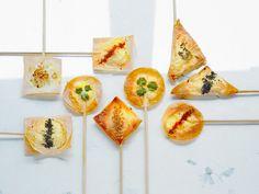 Häppchen mit Ziegenkäse | Zeit: 30 Min. | http://eatsmarter.de/rezepte/haeppchen-mit-ziegenkaese