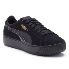 5634a1e11a5f 30 Best Puma Vikky Black and White Suede images