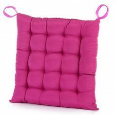 Cojín silla fucsia 45 x 45 cm. Cojines decorativos en Nuryba.com tu tienda de cojines y decoracion online
