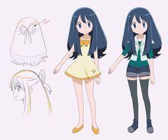 Kaori - Pokemon OC by KurumiErika on DeviantArt Pokemon Oc, Pokemon Manga, Pokemon People, Pokemon Comics, Pokemon Fan Art, Cute Pokemon, Pokemon Stuff, Pokemon Trainer Costume, Pokemon Costumes