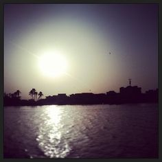 "Comment: mohaa_ndiiaaye said Ce fut doux :)! #coucher #du #soleil #pointe #ilenord #saintlouis #senegal"""