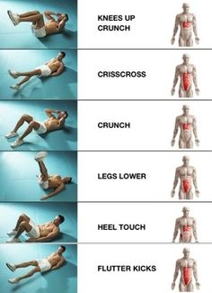 Abs-Beginner Workout - This is great!! Click image to find more health posts