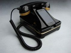 I still love old retro phones, but to be able to use it with an Iphone even better.