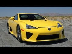 How to launch the Lexus LFA in just 4,362 steps