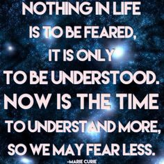 Now is the time to understand ❤️☀️