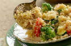 This Vegetable Quinoa Pilaf is perfect for any summer potluck, picnic or BBQ.