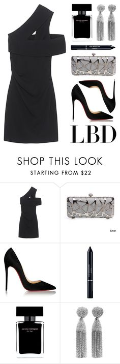 """""""Little Black Dress"""" by lgb321 ❤ liked on Polyvore featuring Dsquared2, Christian Louboutin, Christian Dior, Narciso Rodriguez and Oscar de la Renta"""