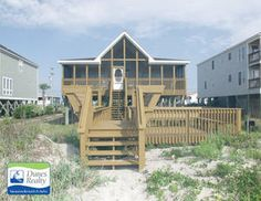 Garden City Beach Rental Beach Home: Mullis | Myrtle Beach Vacation Rentals  By Dunes Realty