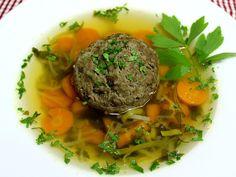 Dumplings For Soup, Vegetable Stock, 4 Ingredients, Pot Roast, Carrots, Yummy Food, Yummy Recipes, Rolls, Beef