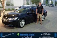 #HappyBirthday to Scott from Cart Danison at Honda Cars of Rockwall!  https://deliverymaxx.com/DealerReviews.aspx?DealerCode=VSDF  #HappyBirthday #HondaCarsofRockwall
