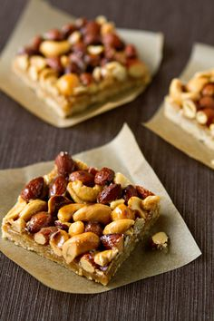 honey nut bars - now I just have to figure out how to get the sugar and dairy out but these sound too good!