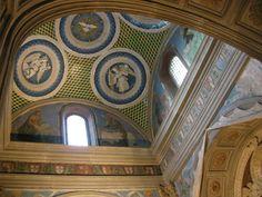 Cappella del cardinale di portogallo 07 tondi di luca della robbia e affreschi di alesso baldovinetti 02 - Category:Cappella del Cardinale del Portogallo - Wikimedia Commons